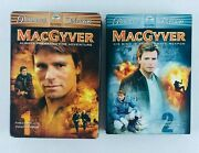 Macgyver The Complete First And Second Season 6 Set Dvd S / 3 Set Dvds