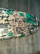 Vintage Surfboard 9ft. Bamboo Bar And Grill Bar Wall Ornament See