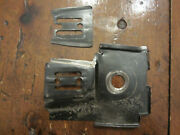 Mcculloch Pro Mac 610 Chainsaw Bar Plate Cylinder Shield 92354 And Bar Plate 64325