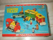 Vintage Fisher Price Little People Play Family Circus Train New In Box Mint