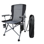 330lbs Portable Folding Camping Chair Heavy Duty Outdoor Fishing Picnic Chairs