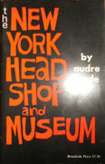 Audre Lorde / New York Head Shop And Museum With Inscribed Note Laid In 1st 1974