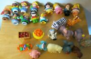 Lot Fisher Price Little People Figures Animals Princess Animals Circus 26