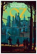 The Wizard Of Oz Variant By Laurent Durieux Signed Ap Print Poster Mint Mondo