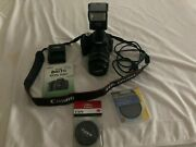 Canon Rebel Eos T1i With Canon 17-85mm Lens