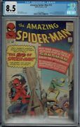Cgc 8.5 Amazing Spider-man 18 Ned Leeds 1st Appearance Ow/w Pages Spiderman