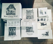 Dickens Village Dept 56 Lot Of 21 Pieces From Late 80s - Early 90s