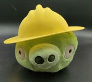 Angry Birds Plush 2011 Accessorized Construction Hat Pig | 6 Limited Edition