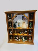 Franklin Mint 1988 Wizard Of Oz Figurines And Shelf- Amazing Condition
