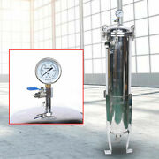 2 304 Stainless Steel Bag Filter Housing 150psi 0.46㎡ High Pressure Filtration