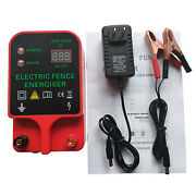 High Voltage Pulse Controller Livestock Sheep Horse Poultry Fence Energizer Tool