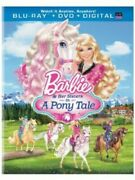 Barbie And Her Sisters In A Pony Tale 2pc +dvd New Bluray
