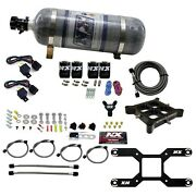 Nitrous Express 66042-12 Dual Stage Billet Crossbar Plate System
