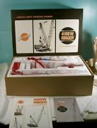 Thw Diecast Model Manitowoc 4100w Ringer Vicon Equipped Liftcrane 150 Scale