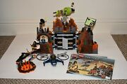 Lego 8637 - Agents Mission 8 Volcano Base - 100 Complete W/ Minifigs/manuals