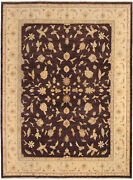 Vintage Hand-knotted Carpet 9and03910 X 13and0394 Traditional Oriental Wool Area Rug