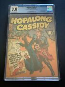 1943 Hopalong Cassidy Fawcett Cream To Off White Pages 1 Cgc 3.0