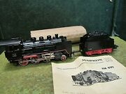 Marklin Ho Scale Fm 800 Locomotive W/paper Tender Exc And Running