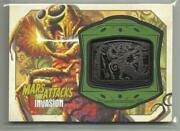 Mars Attacks Invasion Topps Medallion Relic Card High Voltage Execution Mm-5