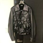 Comme Des Garcons Homme Plus Size Xl 21ss Menand039s Riders Jacket Black F/s From Jpn