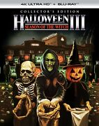 Halloween 3 Limited Collectors Edition 4k / Blu Ray Pre-order 10/5/21