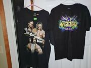 Vintage Wwe Shirt Lot Of 8 Size Xl One Size S One Size M. New Never Worn Aew