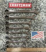 Craftsman Industrial Metric Ratcheting Wrench Set New Made In Usa
