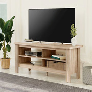 Farmhouse Tv Stand For 55 Flat Screen Tv Console Table Storage Cabinet 43 Inch