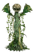 ⭐️ New Home Depot Exclusive 6ft Man Eating Plant Animatronic New For Halloween