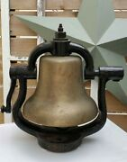 Vintage Howard Antique Train Locomotive Bell -great Condition- See Pics