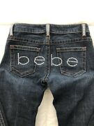Bebe Jeans Rhinestone Crystal 2000andrsquos Vintage Rare Hard To Find Women