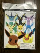 Pokemon Card Collection File Eevee Collection Binder 8 Types With Promo Card