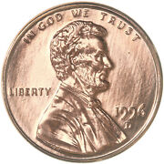 1996 D Lincoln Memorial Cent Gem Bu Penny Us Coin