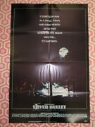Silver Bullet Folded Us One Sheet Poster Stephen King Gary Busey 1985