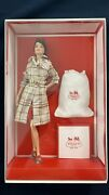 Barbie Coach Doll Gold Label 2013 New Trench Coat X8274 Genuine Leather Bag