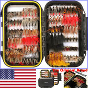 Fishingsir Fly Fishing Flies Assortment Dry Wet Nymph Bass And Trout Fishing Lures