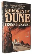 Children Of Dune By Frank Herbert Vincent Di' Fate Cover Art19th Printing