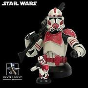 Star Wars Comic-con Limited Shock Trooper Deluxe Collectible Bust Microbust