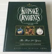 Hallmark Keepsake Ornaments A Collectors Guide 1973-1993 The First 20 Years Book