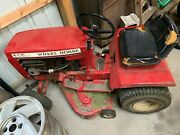 1977 Wheel Horse A-90 Lawn Tractor Mower Vintage Runs And Mows 4 Speed 8 Hp