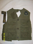 Ww 2 Us Army Air Forces C-1 Survival Vest Emergency Sustenance And Flashlight
