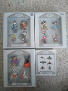 2007 Hallmark Famous Faces For Halloween Ornaments... 4 Complete Sets.