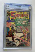 Tales Of Suspense 52 Cgc 3.0 Ow To W Pages 1st App. Black Widow.