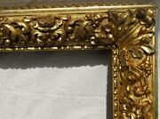 Antique Picture Frame Large Ornate 24.5 X 30.25, 1840