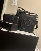 Black Purse And Matching Wallet