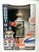 1997 Trendmasters Lost In Space Robot B9 Lights Sounds Motion