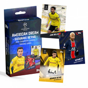 2021 Topps X Giovanni Reyna Sealed Box The American Dream Bvb Chance At Auto