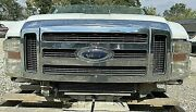 2008-2010 Ford F250sd F350sd White Frontend Assembly Xlt Chrome Grille Surrround