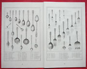 1914 Kirk Repousse Sterling Flatware And Hollow Ware Catalog 46pp Photocopy