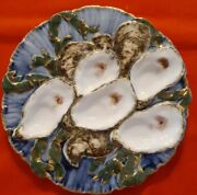 Haviland President Rutherford B. Hayes Oyster Plate Turkey 1880 Rare